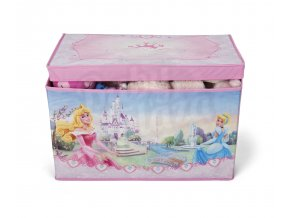 delta kva ten tb84667ps princess fabric toy box front props